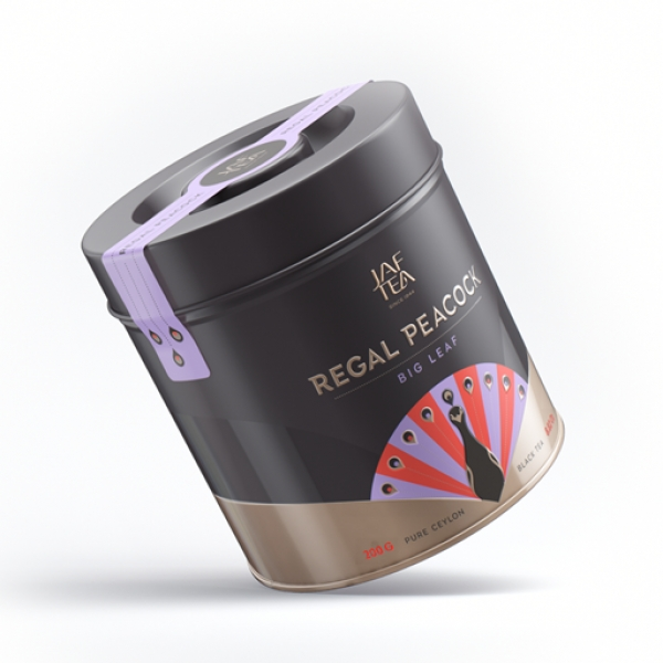 JAF TEA Regal Peacock Big Leaf