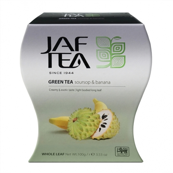 JAF TEA Green tea Soursop Banana